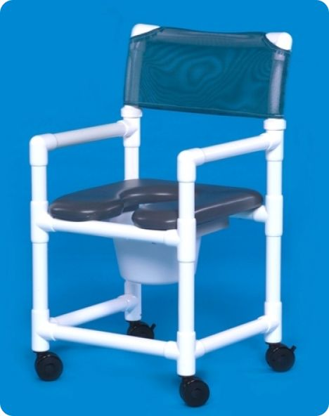 Standard open front soft shower chair 300 lbs capacity for Innovative home products